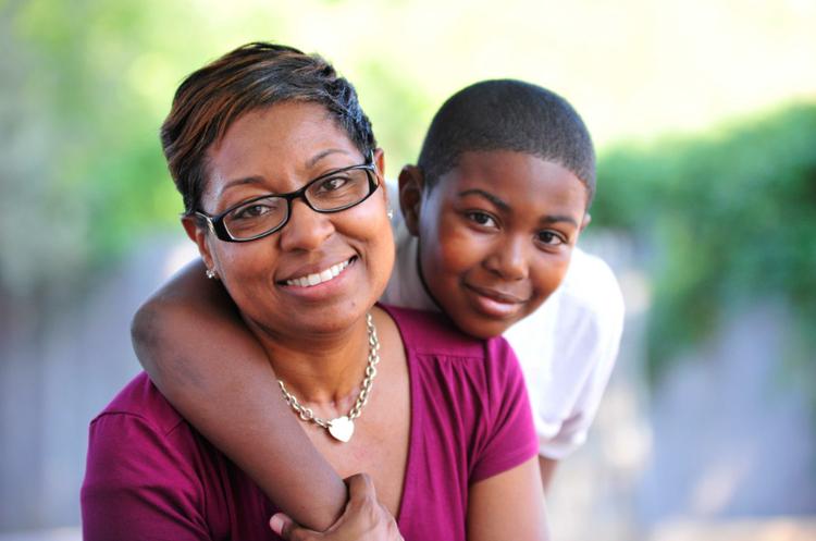 black-single-mother